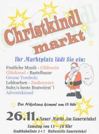 Christkindlmarkt 2005