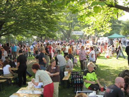 Sommerfest auf dem Schünemannplatz