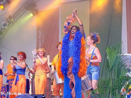 Deutsch-brasilianischer Gottesdienst 2005