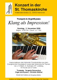 Konzert in der St. Thomaskirche