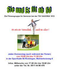 TSV Saxonia: Sie und er, fit ab 50