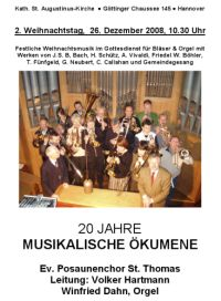 20 Jahre Musikalische �kumene