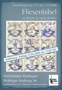 Bibelfliesen in der Fliesenbibel