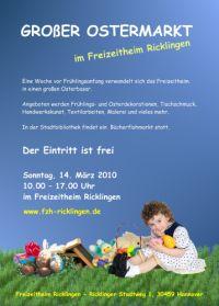 Gro�er Ostermarkt im Freizeitheim Ricklingen