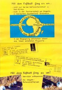 Kirchenladen Ricklingen: Mit dem Fu�ball fing es an...