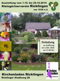 Ricklinger zeigen ihre Hobbys: Kleing�rtnerverein Ricklingen