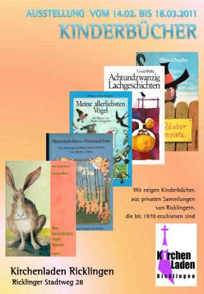 Ausstellung im Kirchenladen Ricklingen: Kinderb�cher