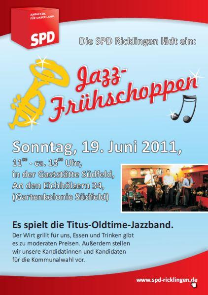 SPD Ricklingen l�dt ein: Jazz-Fr�hschoppen