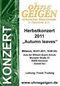 ohneGeigen Herbstkonzert