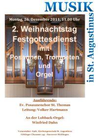 Festliche Weihnachtsmusik in St. Augustinus