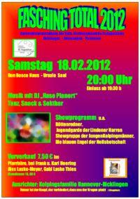 Fasching Total - Gemeindekarneval