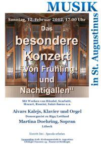 Musik in St. Augustinus: Das besondere Konzert