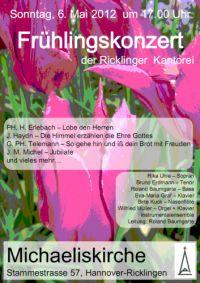 Frühlingskonzert der Ricklinger Kantorei