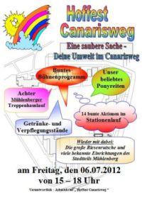 Hoffest Canarisweg 2012