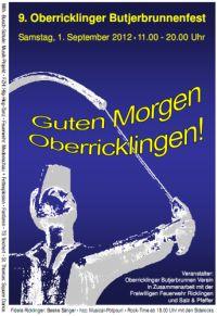9. Oberricklinger Butjerbrunnenfest 2012