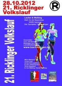 21. Ricklinger Volkslauf 2012
