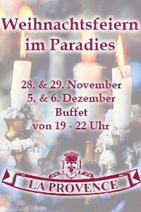 Weihnachtsfeiern im Paradies