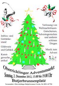 OBV Weihnachtsmarkt 2012