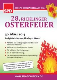 Osterfeuer der SPD Ricklingen