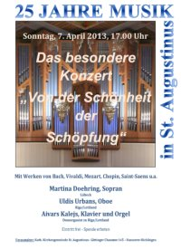 25 Jahre Musik in St. Augustinus: Das besondere Konzert