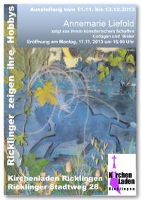 Ricklinger zeigen ihre Hobbys - Annemarie Liefold