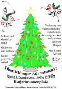 Oberricklinger Advenstmarkt 2013