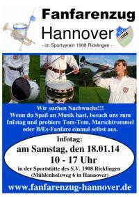 Infotag des Fanfarenzuges Hannover