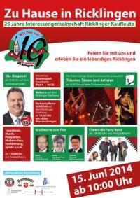 25 Jahre Interessengemeinschaft Ricklingen