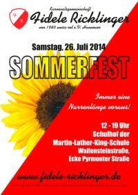 Fidele Ricklinger Sommerfest 2014