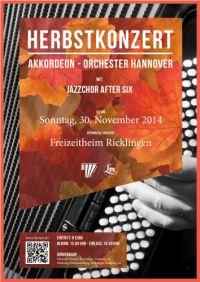 Herbstkonzert des Akkordeon-Orchesters Hannover