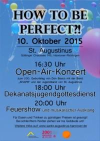 Dekanatsjugendgottesdienst am Samstag, 10. Oktober 2015