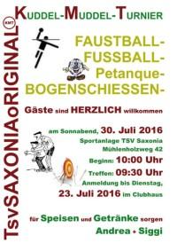 Kuddel-Muddel-Turnier 2016