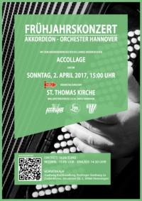 Frühjahrs-Konzert Akkordeonorchester Hannover in Ricklingen am 02.04.2017 15 Uhr