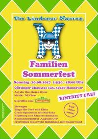 Einladung zum Familien-Sommerfest der Lindener Narren