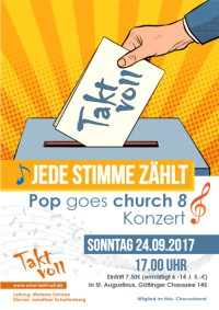 Chor Taktvoll: Pop goes Church 8
