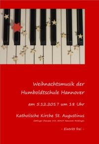 Weihnachtsmusik der Humboldtschule Hannover