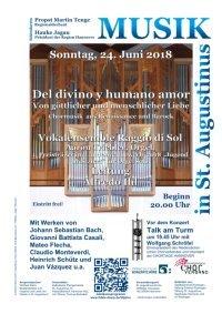 30 Jahre Musik in St. Augustinus: Chormusik aus Renaissance und Barock