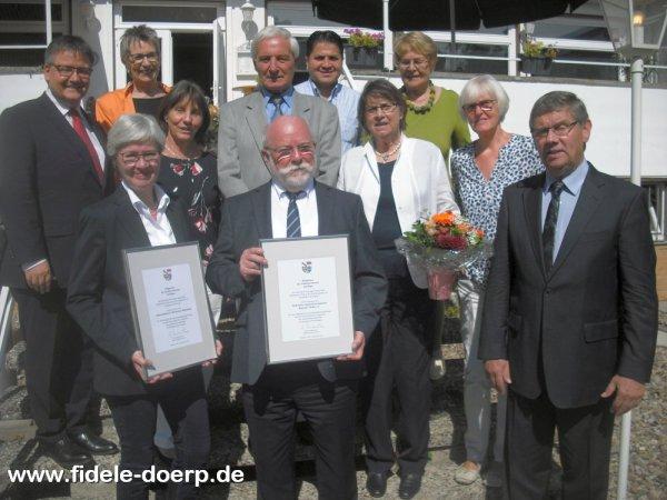 Helferkreise der Flüchtlingswohnheime in Wettbergen und in Oberricklingen