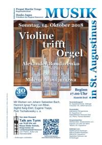 Violine trifft Orgel