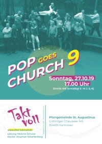 Taktvoll: Pop goes church 9