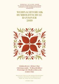 Traditionelle Weihnachtsmusik der Humboldtschule in St.  Augustinus am 10. Dezember 2019