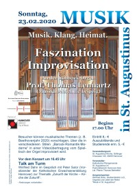 Faszination Improvisation - Musik in St. Augustinus