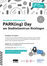 PARK(ing) Day am STZ Ricklingen