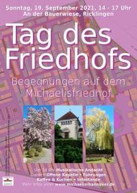 Michaelisfriedhof, An der Bauerwiese, Ricklingen, 19.09.2021, 14 bis 17 Uhr