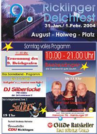 9. Ricklinger Deichfest 2004