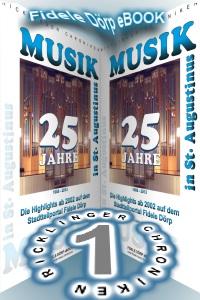 Ricklinger Chroniken Nr. 1: 25 Jahre Musik in St. Augustinus