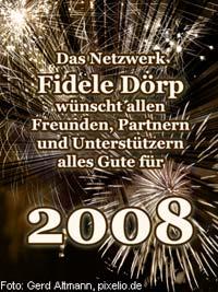 Frohes neues Jahr 2008!